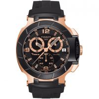 homme Tissot T-Race Chronograph Watch T0484172705706
