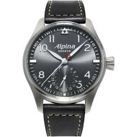 Mens Alpina Startimer Pilot Manufacture Automatic Watch