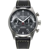 Herren Alpina Startimer Pilot Chronograph Watch AL-860GB4S6