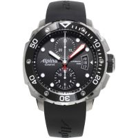 Mens Alpina Extreme Diver Automatic Chronograph Watch