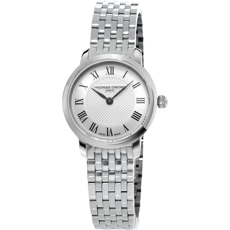 Ladies Frederique Constant Slim Line Watch FC-200MCS6B