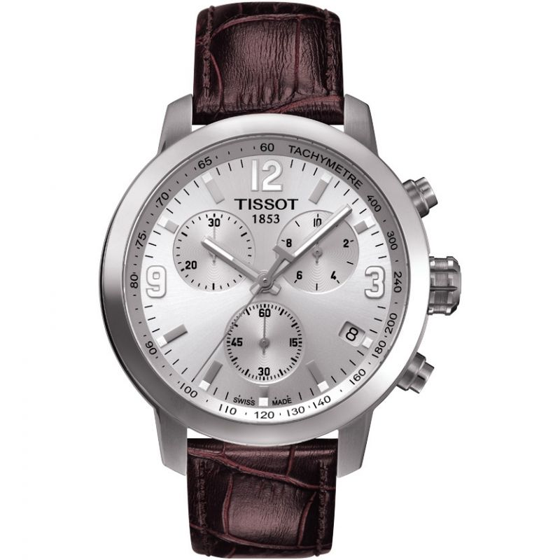Herren Tissot PRC200 Chronograph Watch T0554171603700