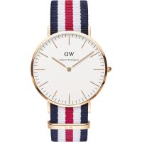 Hommes Daniel Wellington Canterbury 40mm Montre