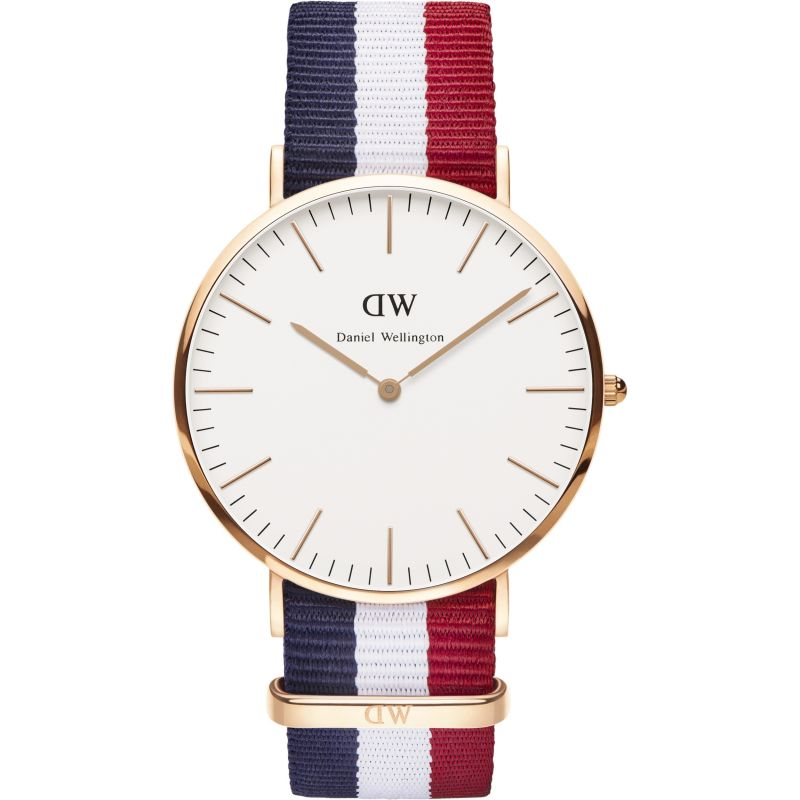 homme Daniel Wellington Cambridge 40mm Watch DW00100003