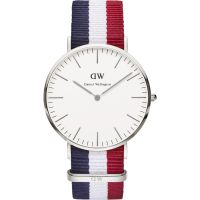 Reloj para Hombre Daniel Wellington Cambridge Silver 40mm DW00100017