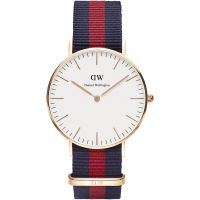 Ladies Daniel Wellington Oxford Rose 36mm Watch