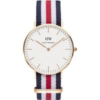 Femmes Daniel Wellington Canterbury Rose 36mm Montre