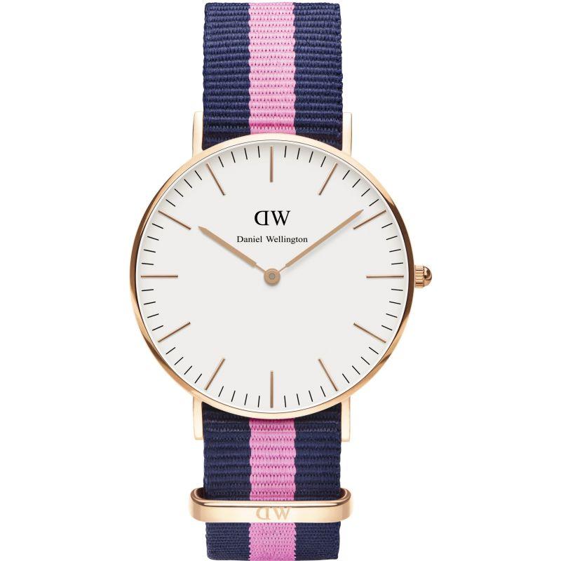 Damen Daniel Wellington Winchester Rose 36mm Watch DW00100033
