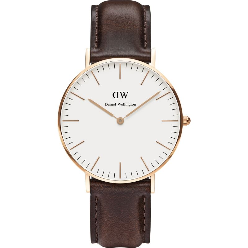Damen Daniel Wellington Bristol Rose 36mm Watch DW00100039
