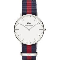 Damen Daniel Wellington Oxford Silver 36mm Watch DW00100046