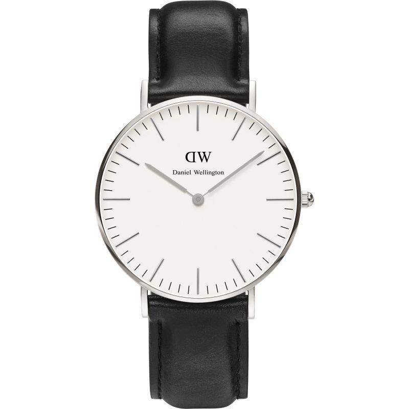 femme Daniel Wellington Sheffield Silver 36mm Watch DW00100053