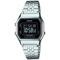 Unisex Casio Classic Alarm Chronograph Watch LA680WEA-1BEF