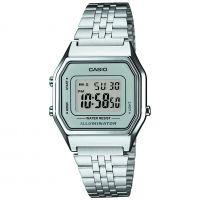 Unisex Casio klassisch Wecker Uhr