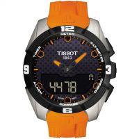 Herren Tissot T-Touch Expert Titan Wecker Chronograf solar betrieben Uhr