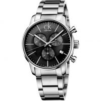 Herren Calvin Klein City Chronograph Watch K2G27143