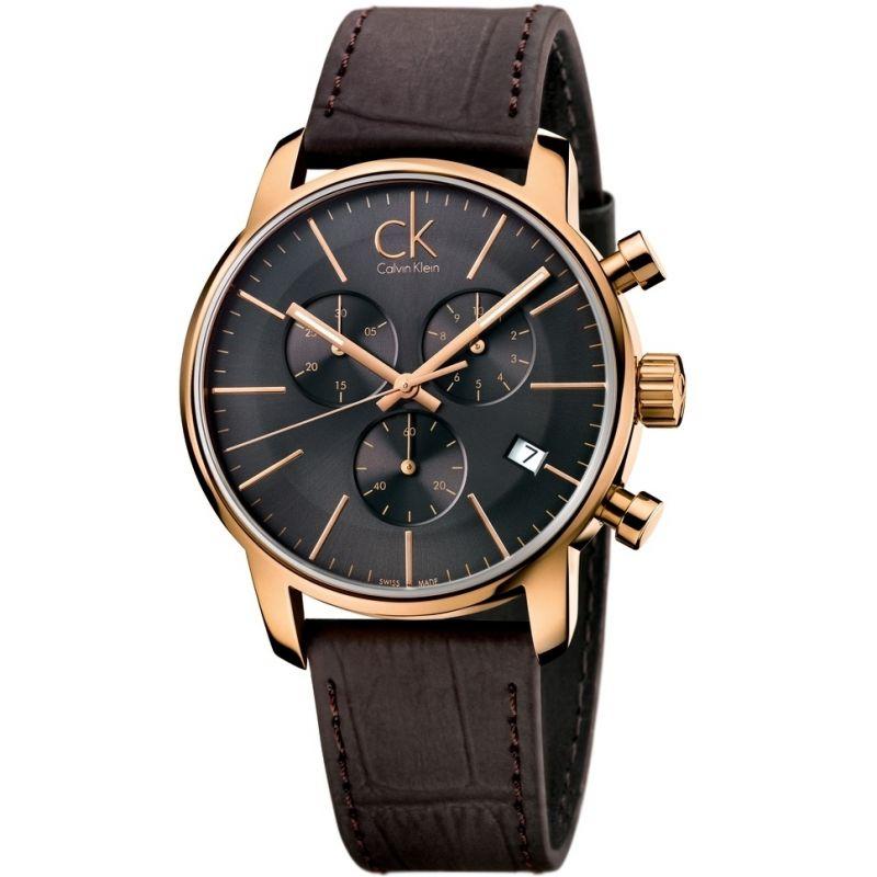 Herren Calvin Klein City Chronograph Watch K2G276G3