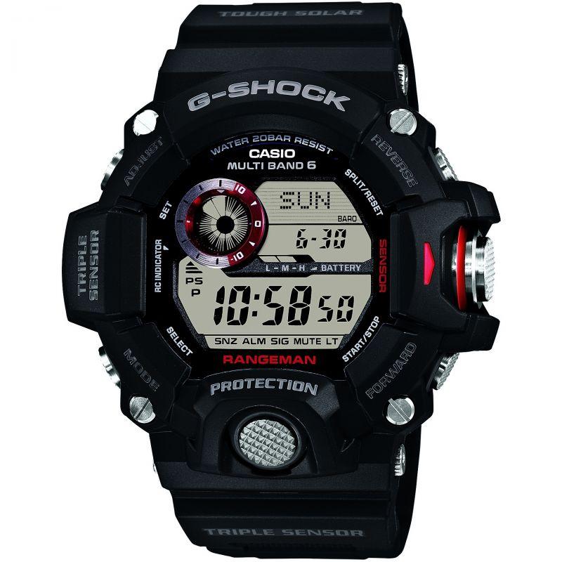 Herren Casio G-Shock Rangeman Alarm Chronograph Radio Controlled Watch GW-9400-1ER