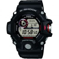 Mens Casio G-Shock Rangeman Alarm Chronograph Radio Controlled Watch