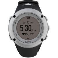 Unisex Suunto Ambit2 Bluetooth Silver Alarm Chronograph Watch SS019650000
