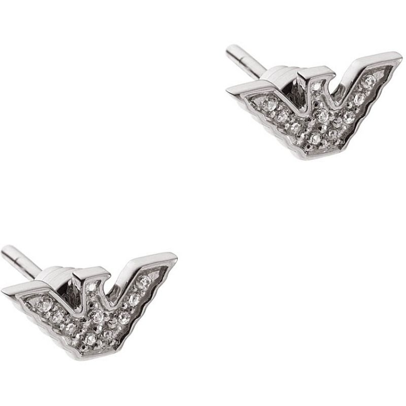 Biżuteria uniwersalne Emporio Armani Jewellery Signature Eagle Earrings EG3027040
