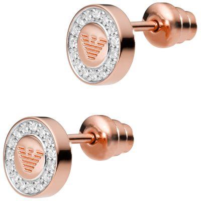 Damen Emporio Armani Sterlingsilber Signature Ohrringe