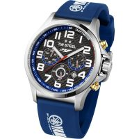 Herren TW Steel Pilot Yamaha Factory Racing Edition 48mm Chronograf 48mm Uhr