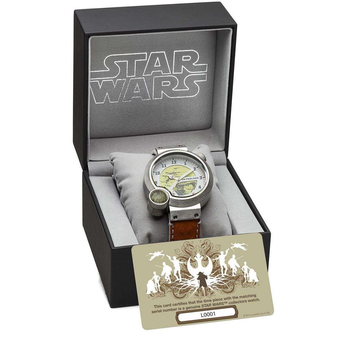hommes star wars collectionneurs dition limit e montre star138. Black Bedroom Furniture Sets. Home Design Ideas