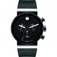 Herren Movado Saphir Chronograf Uhr