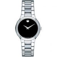 Damen Movado Serio Diamant Uhr