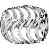 Ladies Calvin Klein Stainless Steel Body polished bangle KJ2WMB000100