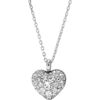 Fossil Jewellery Vintage Motifs Heart Necklace JEWEL