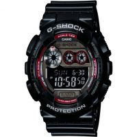 Herren Casio G-Shock Alarm Chronograph Watch GD-120TS-1ER