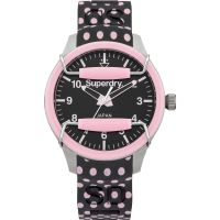 Ladies Superdry Scuba Polka Watch