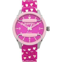 femme Superdry Scuba Heart Watch SYL137P