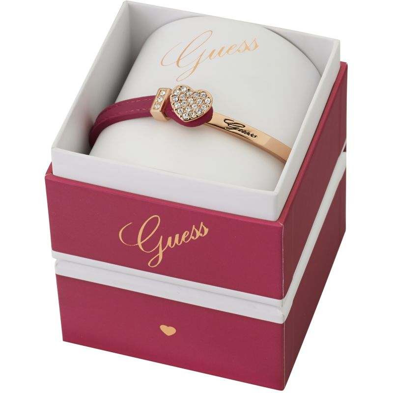 Ladies Guess PVD rose plating Color Chic Bracelet Box Set UBS91311