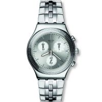 Unisex Swatch Crystal Cascade Chronograph Watch