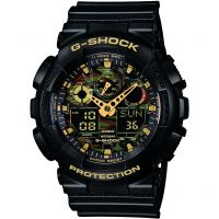 Herren Casio G-Shock Alarm Chronograph Watch GA-100CF-1A9ER