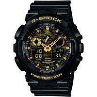 homme Casio G-Shock Alarm Chronograph Watch GA-100CF-1A9ER