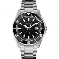 Herren Bulova Marine Stern Uhr