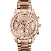 Ladies Caravelle New York Melissa Chronograph Watch