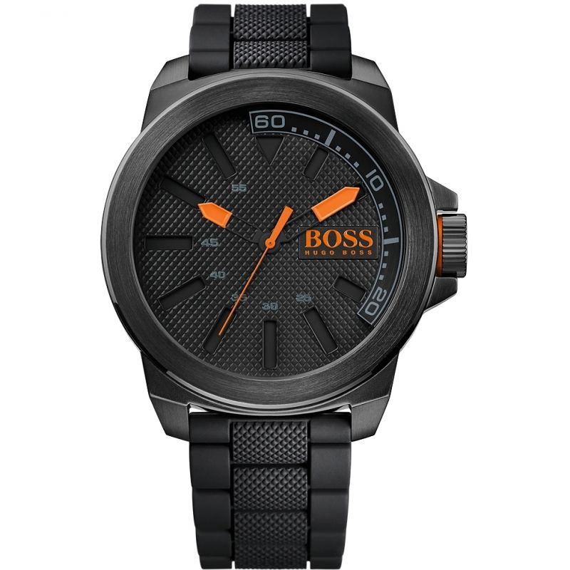 Hugo Boss Orange New York Herenhorloge Zwart 1513004