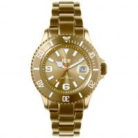 Ice-Watch Ice-Alu Mid Unisex horloge Goud AL.GD.U.A.12