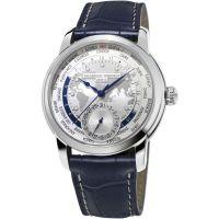 Herren Frederique Constant hergestellt Worldtimer Limited Edition Automatik Uhr