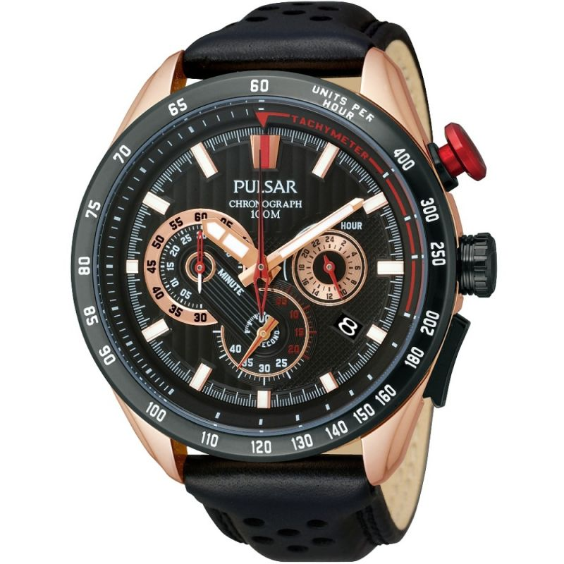 Mens Pulsar Chronograph Watch PU2066X1