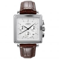 Mens Muhle Glashutte Teutonia II Quadrant Automatic Chronograph Watch