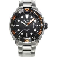 Herren Alpina Seastrong Diver Watch AL-525LBO4V26B