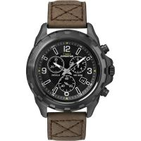 Herren Timex Indiglo Expedition Chronograf Uhr