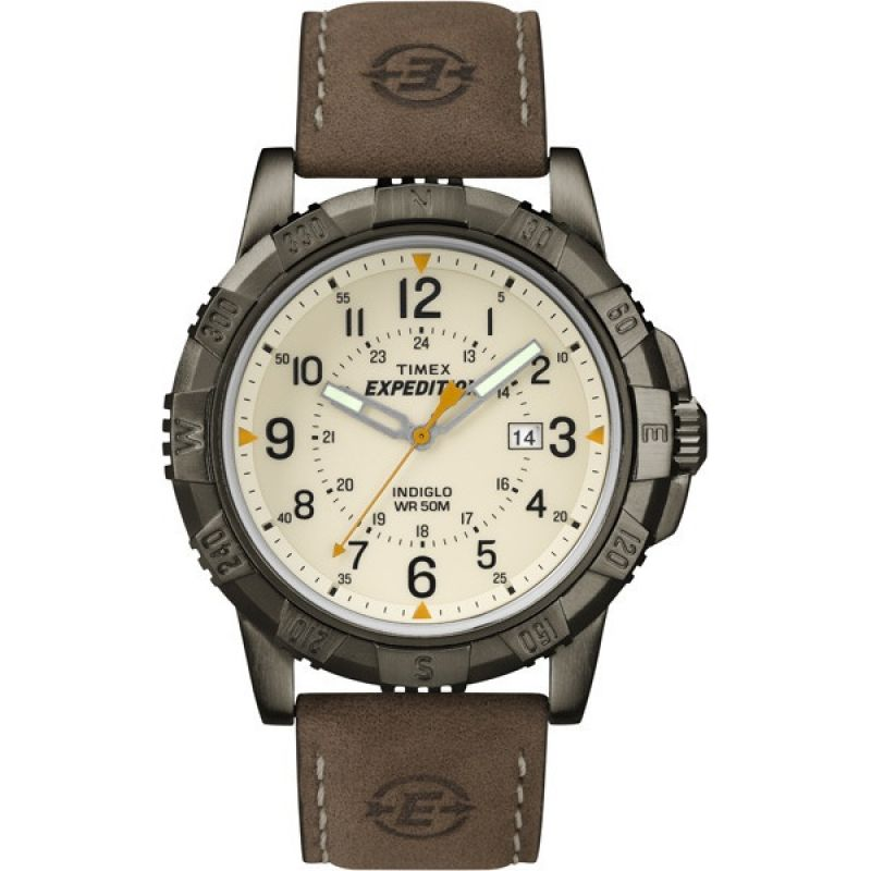 Timex Expedition Herrklocka Brun T49990
