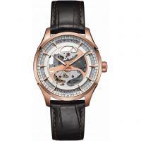 Mens Hamilton Jazzmaster Viewmatic Skeleton Automatic Watch