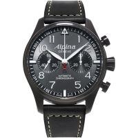 Herren Alpina Startimer Pilot Automatik Chronograf Uhr